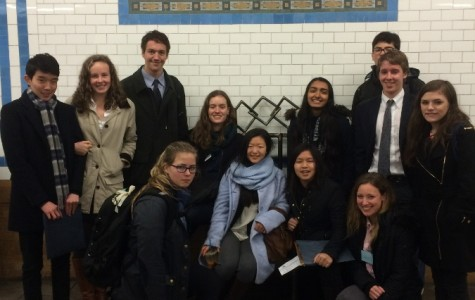 Kent delegates exhibit talent at Model United Nations Trip