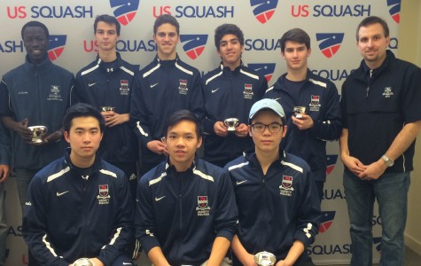 Boys Varsity Squash has a banner season