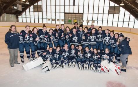 Girls Varsity Hockey Undefeated, #1 in New England