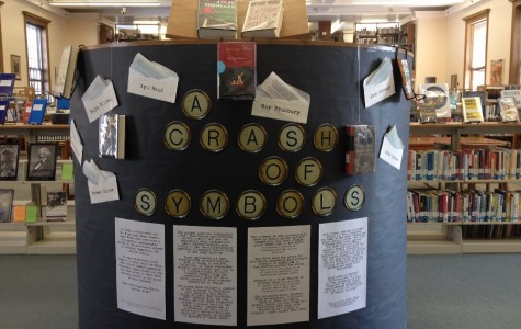 Symbolism Display in the Library