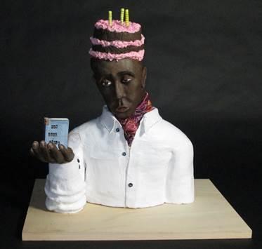 Cake Head Man