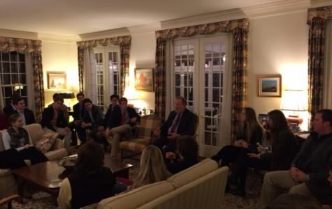 Lobbyist Jack Ferguson Visits Kent