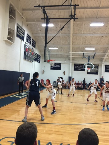 Girls Varsity Basketball: 1-point loss to Taft