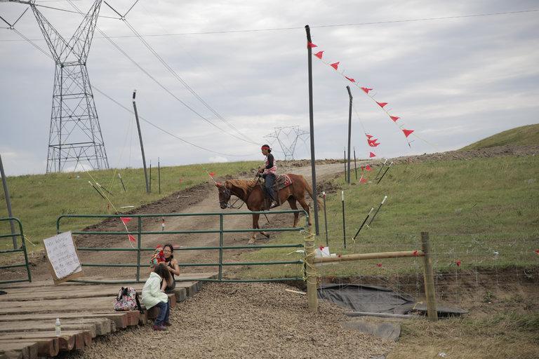 Outside the bubble: The Dakota Access Pipeline