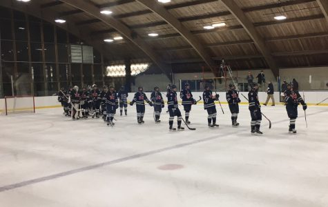 Boys Hockey Home Opener v. Salisbury