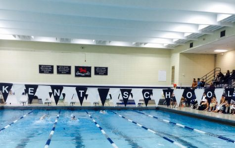 Boys Swimming and Diving Start Season Against Brunswick