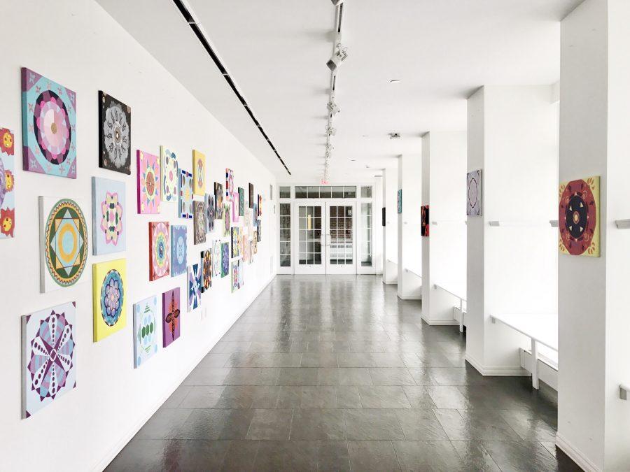 Mandala Exhibit in the Walkway Gallery