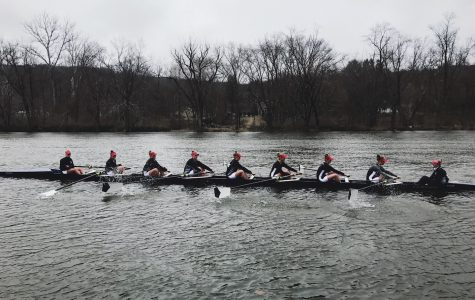 Girls Crew Sweeps Lawrenceville in home opener