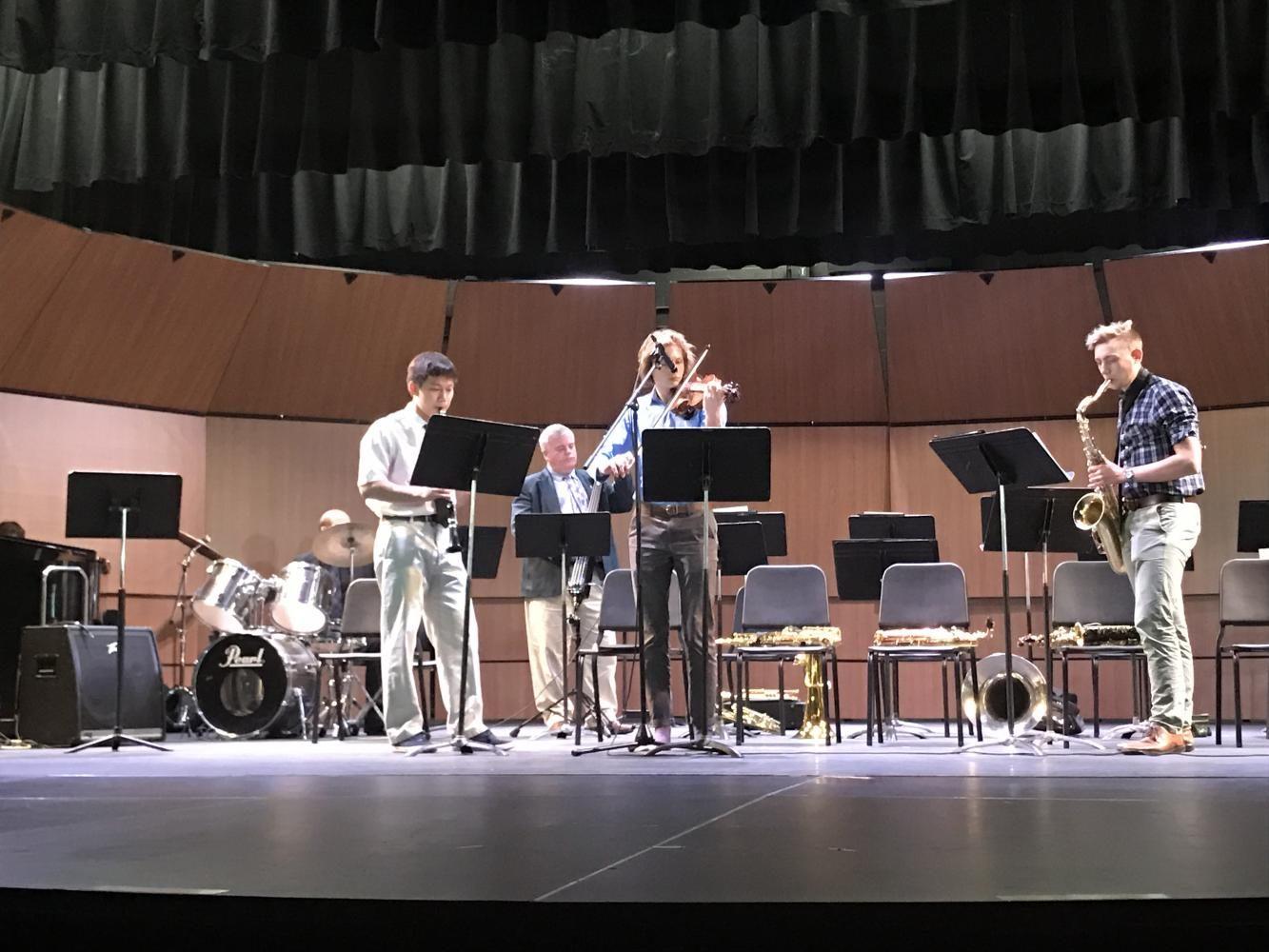 Jazz Band Concert Makes a Spash