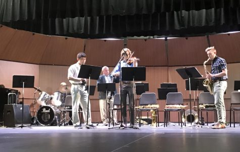 Jazz Band Concert Makes a Spash