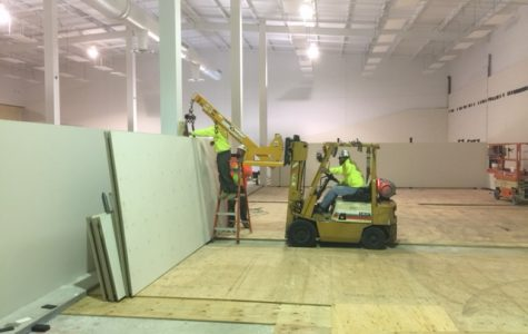 New Racquet Center nearing completion