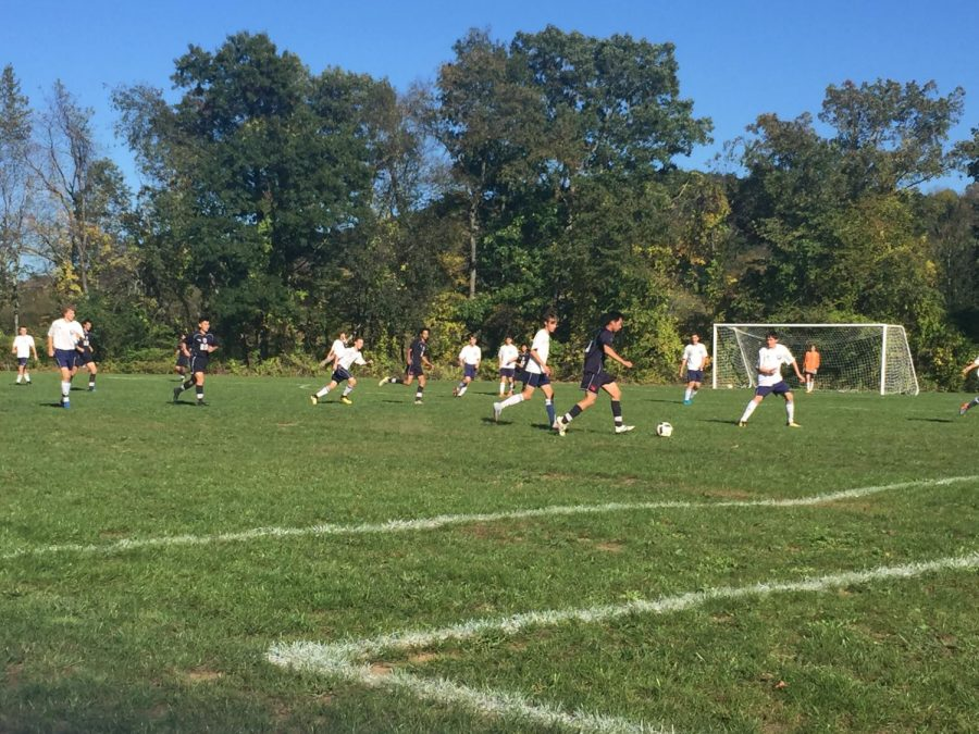 Boys JV soccer shuts out Millbrook