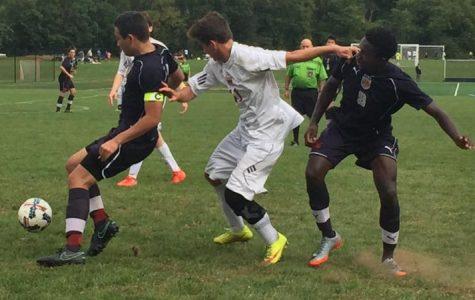 Boys soccer bonding this season