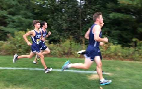 Boys cross country makes strides