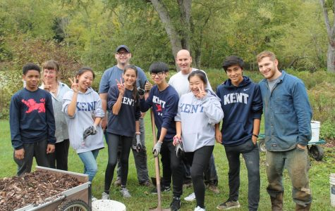 Look what we did! Third Formers spend a day in service