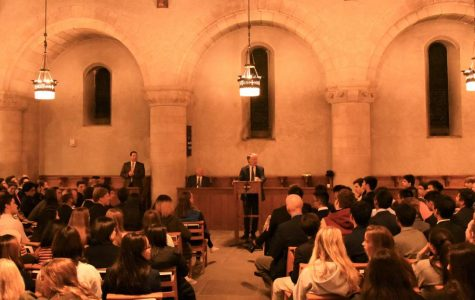 Cyrus Vance, Jr. offers the Vance Lecture