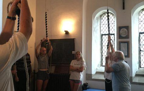 British bellringers visit Kent