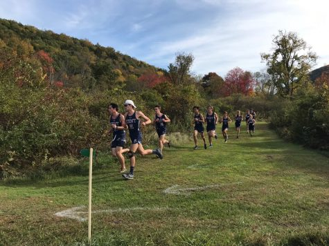 Boys cross country finishes season with personal bests