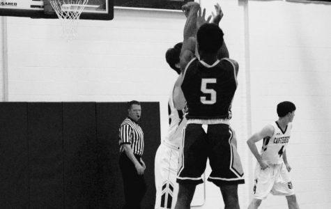 Boys basketball has tough battle with Canterbury