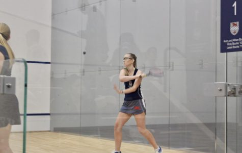Girls squash beats Westover on new home courts