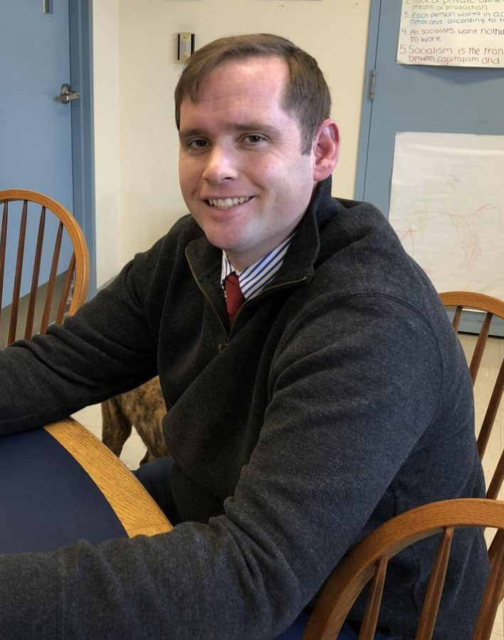 New History Teacher Doerr reflects on his first months at Kent