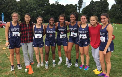 Girls Cross Country Fights at Canterbury Invitational