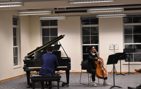 Talents Awe the Audience at Fall Chamber Recital