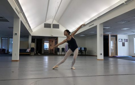 Dancers Prepare for Fall Performance