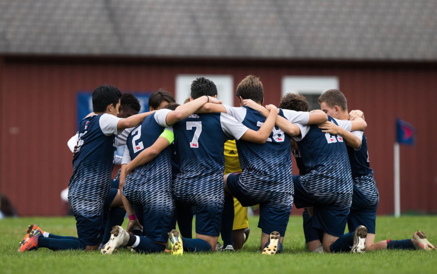 Boys soccer dominates the playing field