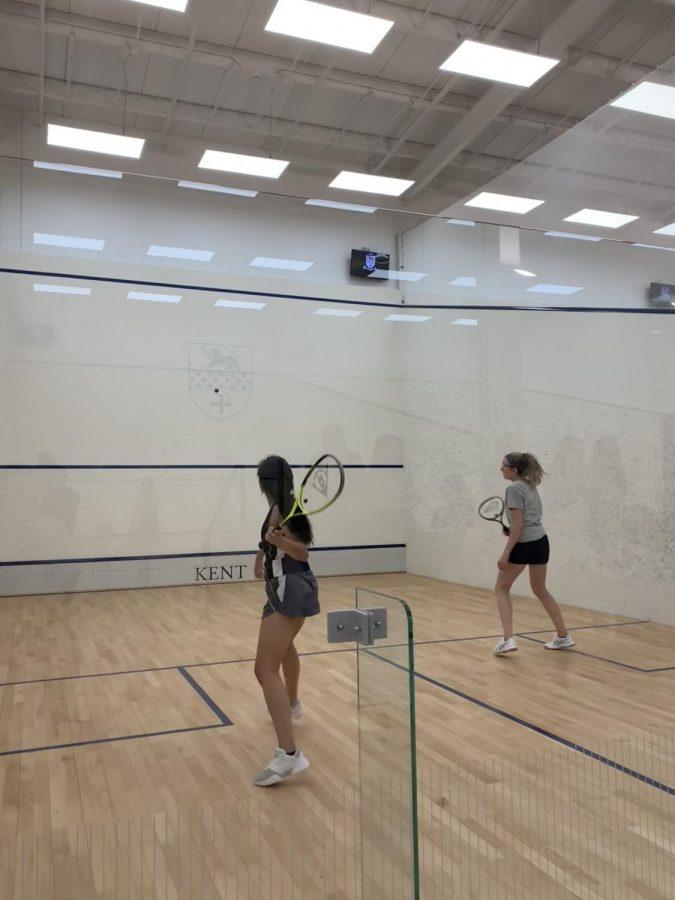 Girls JV Squash Has Tight Win Against Porters