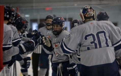 Varsity Boys Hockey at the Christmas Tournament