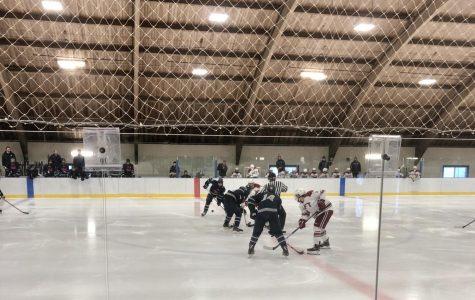 Kent Boys Hockey Ties Taft in exciting game
