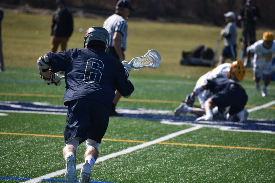 Boys Varsity Lacrosse Battles Brunswick