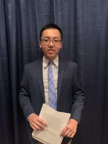 Andy Xu '21 Presents Guild Paper on Painter Caravaggio