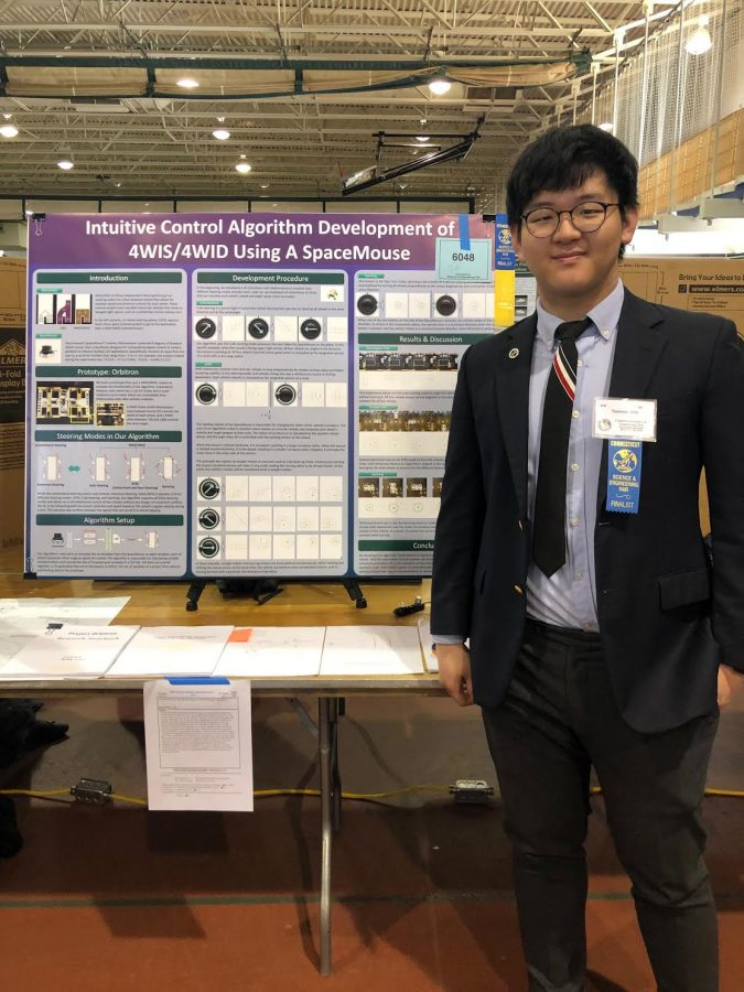 An Outstanding Performance at the 71st Annual Connecticut Science and Engineering Fair