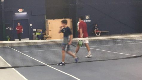 Boys Varsity Tennis Battles Avon Old Farms