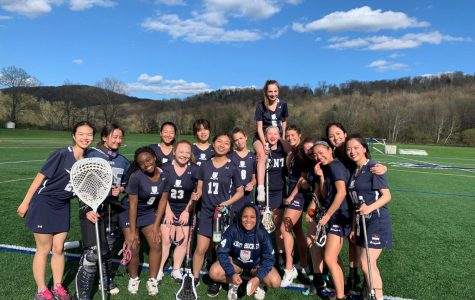 Girls JV Lacrosse Battles Hotchkiss