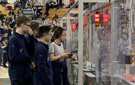 FIRST Robotics Team Competes in the Spring
