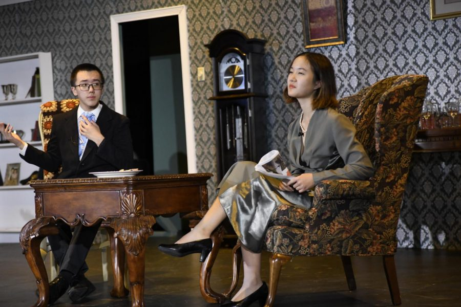 Blithe Spirit: A Thrilling Fall Play