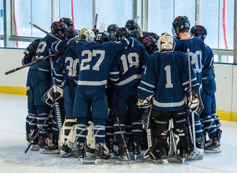 A Strong Start for Boys Varsity Hockey