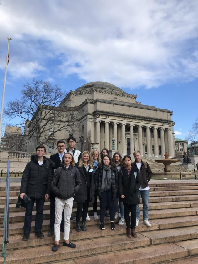 Kent's Model UN Attends Columbia Conference