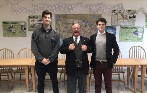 Teddy Roosevelt Impersonator Visits Kent