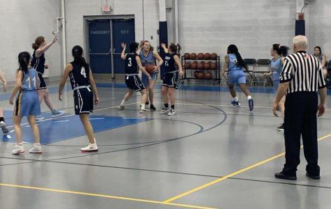 Girls JV Basketball Topples Westover
