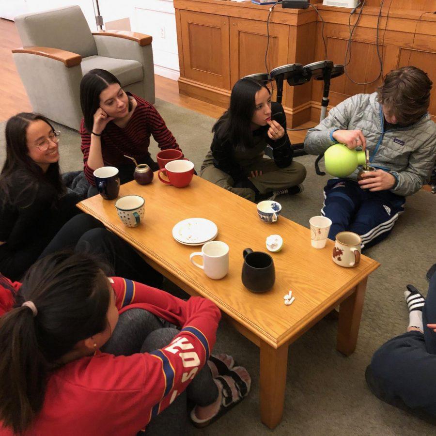 The Tea Club Meets (pre-COVID)