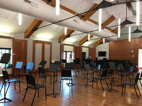 Music Program Continues Under Covid