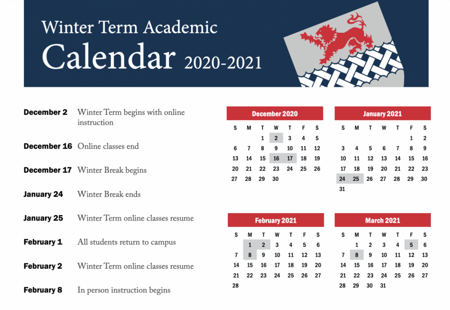 Students react to a very different calendar this year