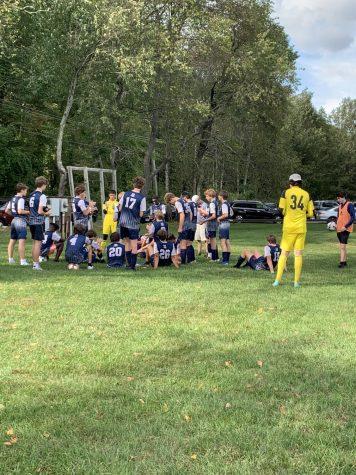 Boys varsity soccer has close loss to Salisbury