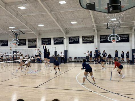 Varsity Volleyball Battles Choate