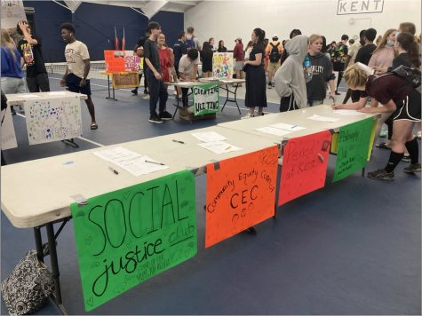 A chance to get involved: the Club and Affinity Group Fair